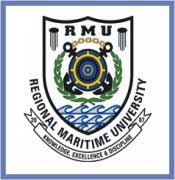 Regional Maritime University Postgraduate Admission Form