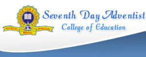 Seventh Day Adventist College of Education Admission Requirements