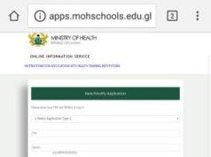 Public Health Training Institutions Admission Deadline