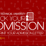 TTU Second Batch Admission list