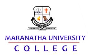 Maranatha University College Admission List