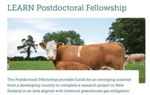 LEARN Postdoctoral Fellowship 2018 For Emerging Scientists