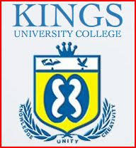 Kings University College Admission Letter