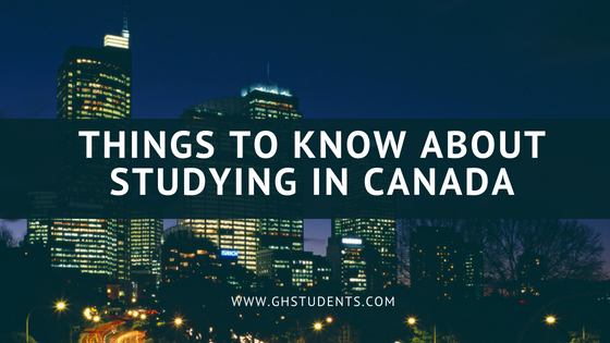 Things to Know About Studying in Canada (Postgraduate)