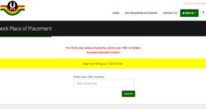 NSS Posting Portal