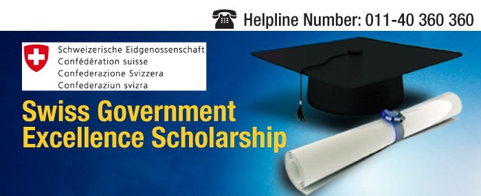 Swiss Government Excellence Scholarships 2020/2021 for ...
