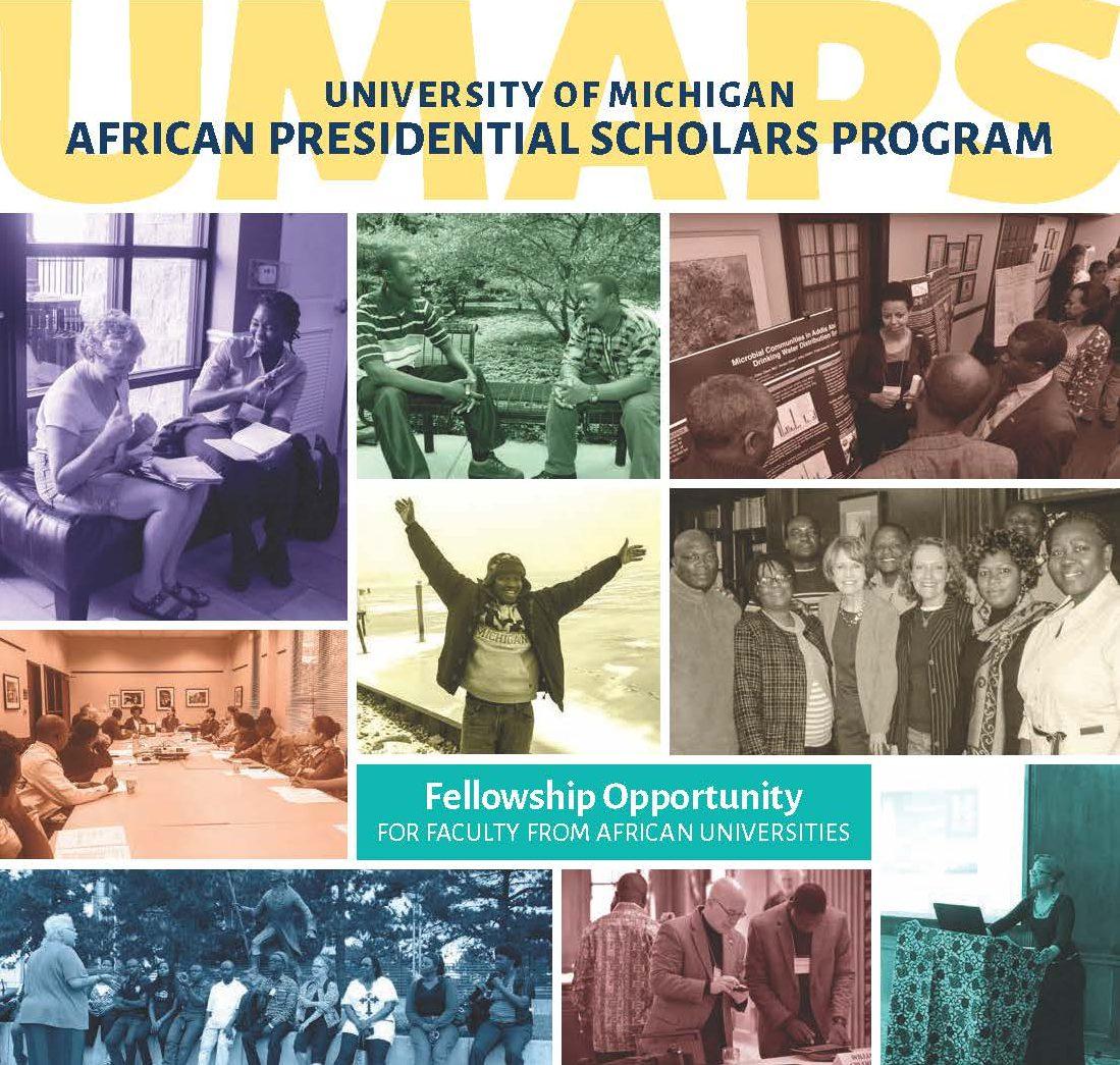 University of Michigan African Presidential Scholars Program