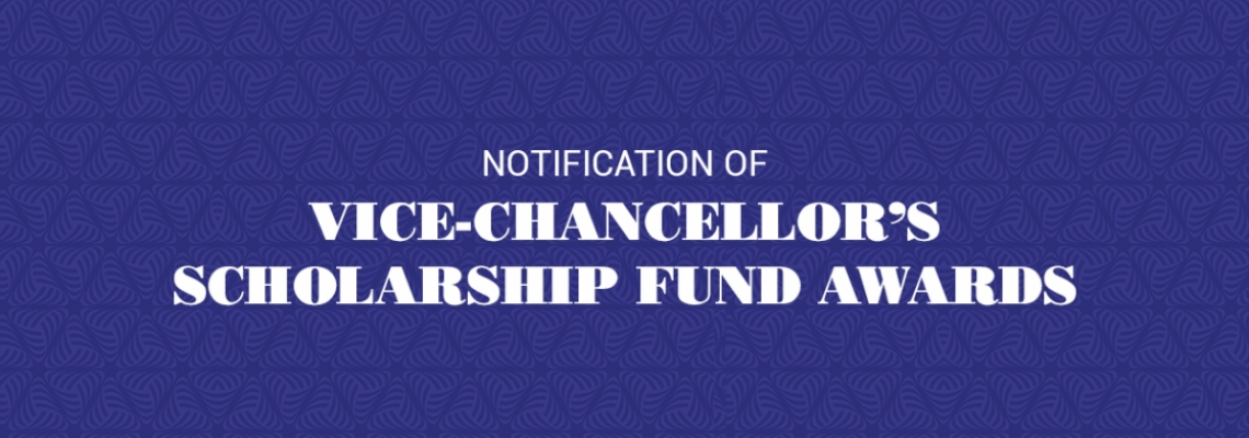 List of Successful Candidates for UEW Vice-Chancellor's Scholarship Fund