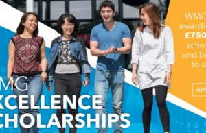 WMG Excellence Scholarships