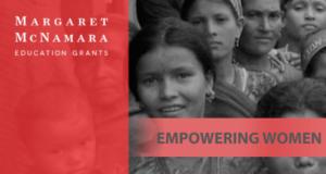 Margaret McNamara Educational Grants (MMEG) Scholarships