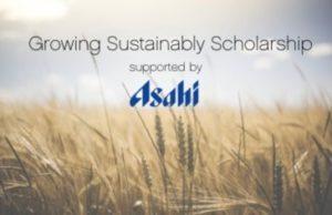 Asahi Growing Sustainability Scholarship