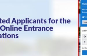 UEW Mature Entrance Examinations Shortlisted Applicants