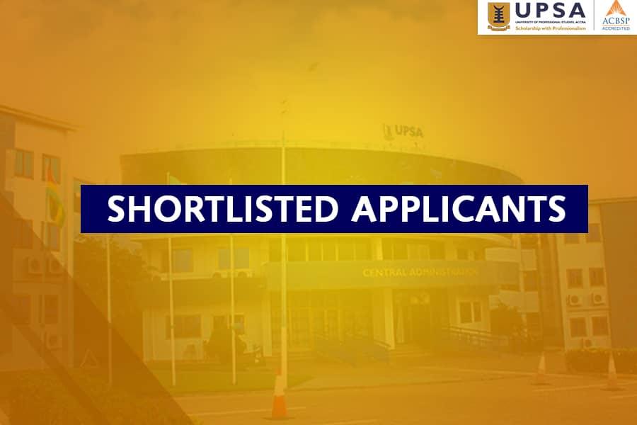 UPSA 3-Year LLB Entrance Exam Class Allocation