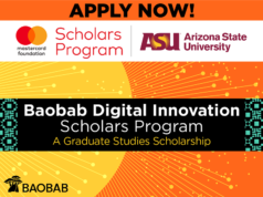 Arizona State University Baobab Digital Innovation Scholarship