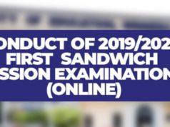 UEW Online Sandwich Examinations