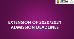 UPSA Extends Admission Deadline
