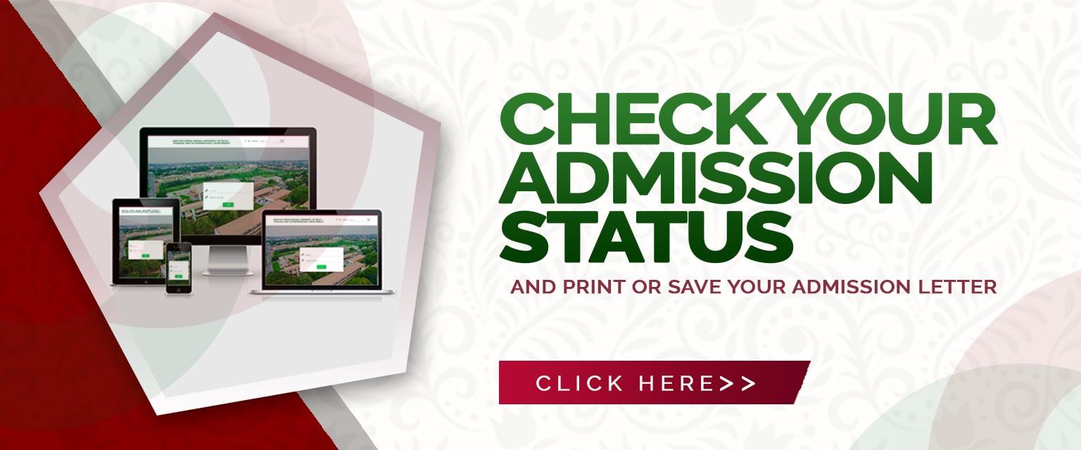 UEW-AAMUSTED Admission List