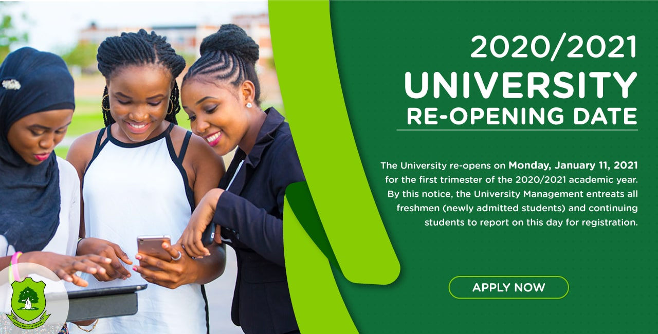 UDS Re-Opening Date