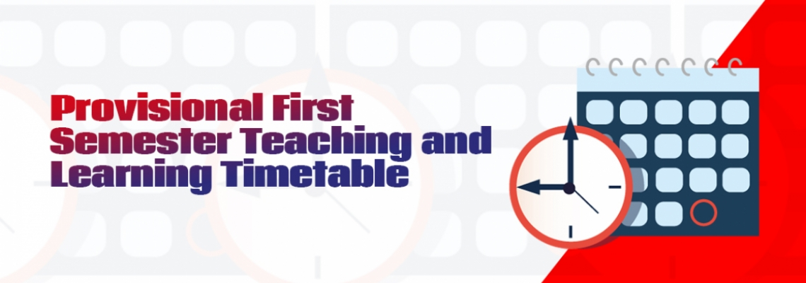 UEW First Semester Teaching & Learning Timetable